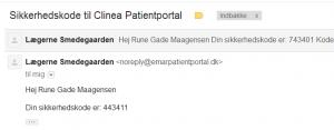mail-sikkerhedskode